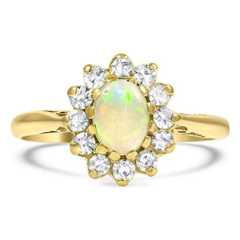 opal vintage ring belgium brilliant earth