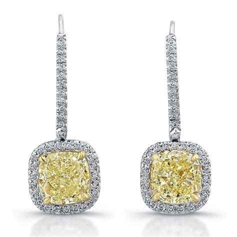 Fancy Yellow Diamond Earrings ? Revere Jewels