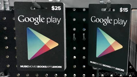 Google Play Gift Card Balance - how to apply a google play gift card to your account android central
