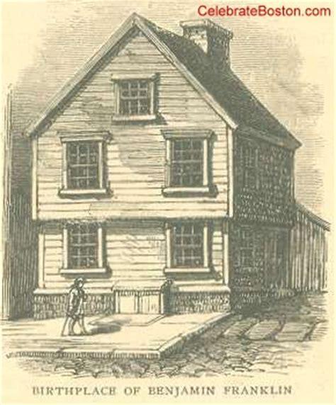 benjamin franklin house benjamin franklin birthplace in boston