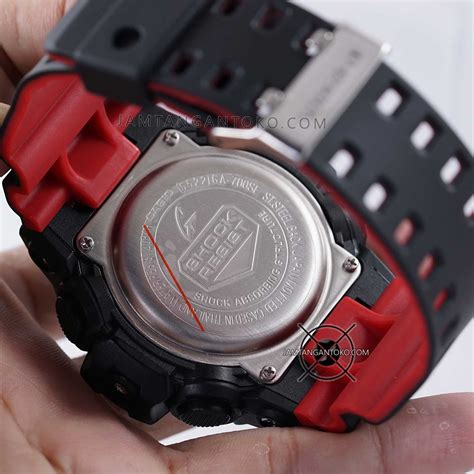 Hoops Ori Digital Hitam Merah jam g shock ga700se 1a4 hitam merah original bm toko jam