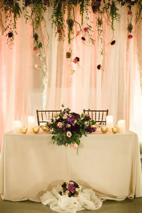 Wedding Backdrop Ideas For Reception by 25 Best Ideas About Table Backdrop On