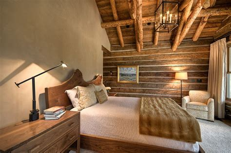 cabin style bedroom 25 reasons to fall in love with a live edge headboard
