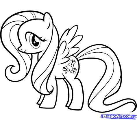 coloring pages my pony fluttershy image my pony coloring pages