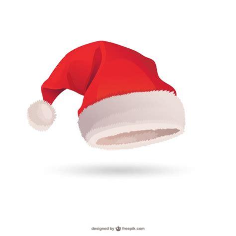 santa claus hat vector vector free download