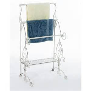 floor towel holder arabelia floor standing towel holder and toiletry stand