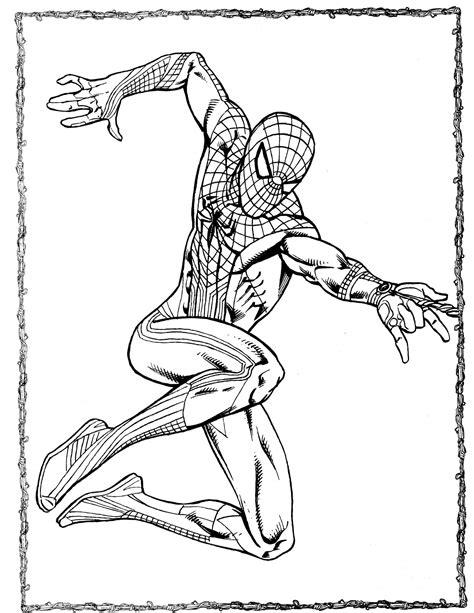 spider man 35 coloringcolor com
