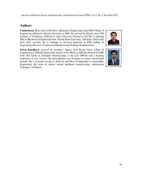 materials and design journal elsevier materials science and engineering a journal elsevier
