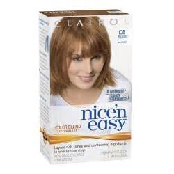 and easy hair color clairol n easy lightest golden brown brown hairs