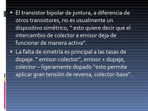 diferencia entre un transistor bipolar y uno de efecto de co diferencia entre un transistor bipolar y uno de efecto de co 28 images transistores bjt