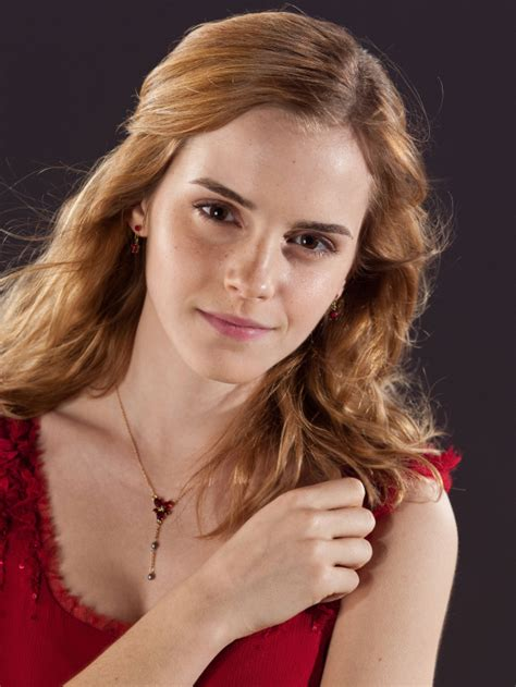 hermione granger in the 1st movoe image dh hermione in her red dress jpg harry potter