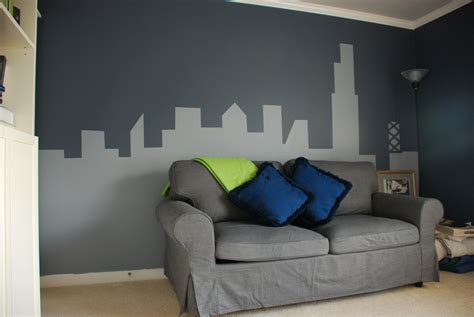 how to paint a mural on a bedroom wall painter s tape tell er all about it