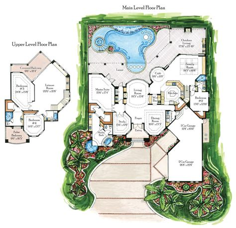 free home plans villas floor plans