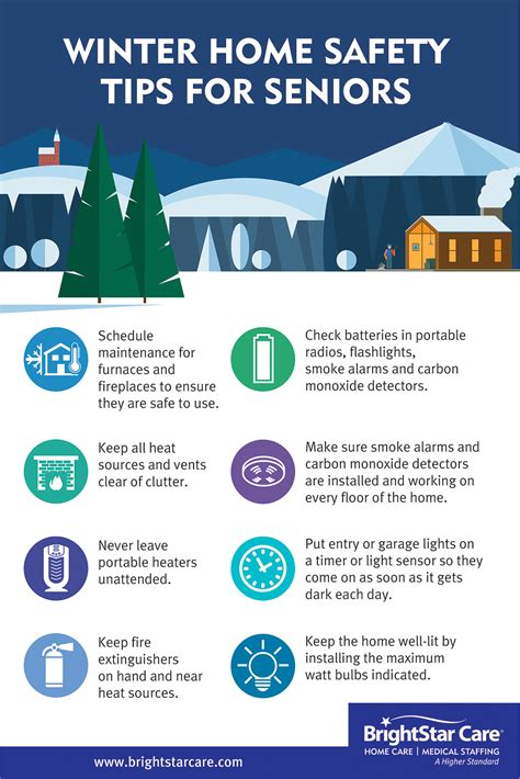 winter home safety guide for seniors brightstar care