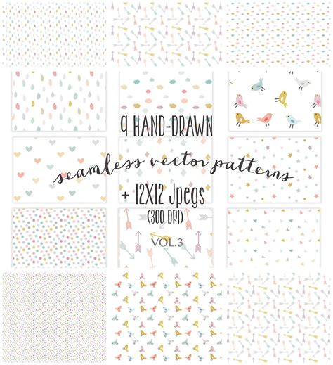 seamless pattern girly seamless cute vector patterns free download