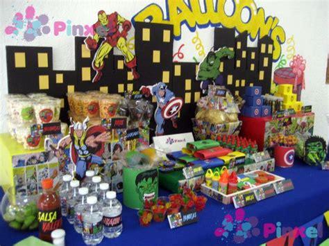 mesa de dulces para fiesta apexwallpapers com mesa de dulces avengers vengadores hulk capitan