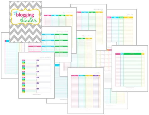 free printable notebook planner 20 free printables to organize your blog faith filled