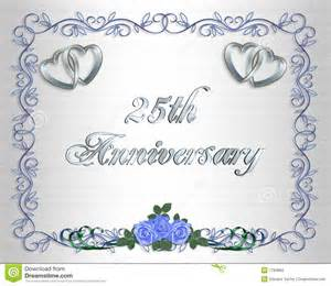 25th Anniversary Invitation Templates Free by Wedding Anniversary Invitation Template Free