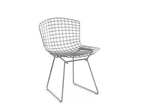 Bertoia Chair by Bertoia Side Chair Unupholstered Hivemodern