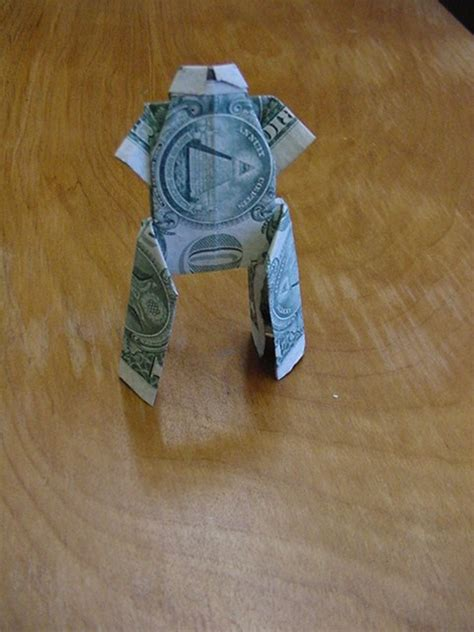 Dollar Bill Origami Frog Gifts Origami - thealliancetrader design dollar bill origami