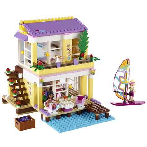 lego casa lego friends casa da praia da 369 pe 231 as lego