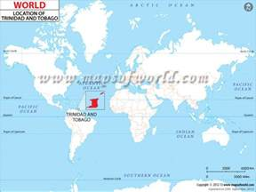 Where Is Trinidad And Tobago Located On The World Map by Where Is Trinidad And Tobago Location Of Trinidad And Tobago