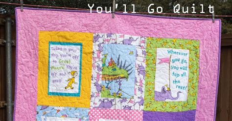 fabric relish oh the places she ll go quilt