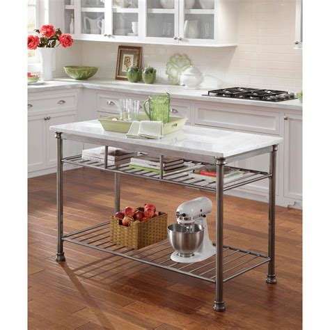 orleans kitchen island home styles the orleans kitchen island with marble veneer