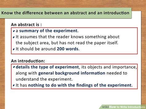 How To Write A Background Report by 6 Ways To Write Introductions Wikihow