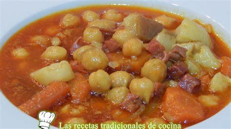 los garbanzos no muy caloricos y ricos en calcio fibra y proteinas receta de potaje de garbanzos con jam 243 n recetas de