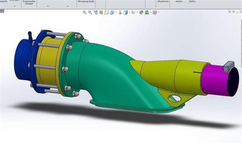 model boat jet drive water jet drive 3d model cgtrader