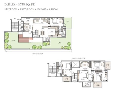 garden floor plan specifications palm garden gurgaon emaar mgf gurgaon