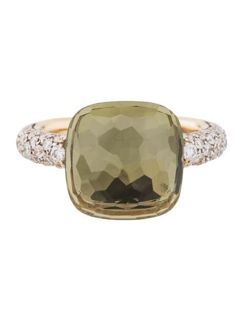 pomellato nudo ring price pomellato 18k quartz nudo ring rings