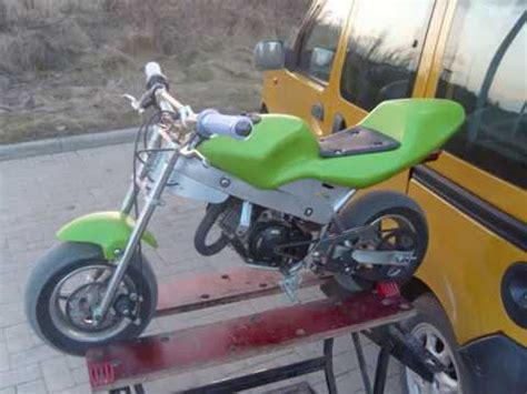 Modification Dirt Bike 125cc by 30ps Tuning Minibike Pocketbike Mit 125ccm 6 Hon
