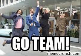 Team Memes - anchorman go team