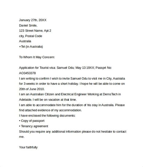 Visa Withdrawal Letter Format Australia visa withdrawal letter request letter format letter and