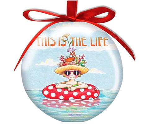 mary engelbreit this is the life ball ornament 878 06