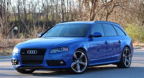 Audi A4 Sport Wagon by The Last Audi A4 Wagon Is Now Temptingly Cheap