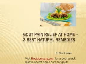 home remedy for gout gout relief at home 3 best remedies
