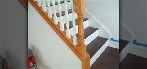 how to install laminate flooring on stairs 171 construction repair wonderhowto