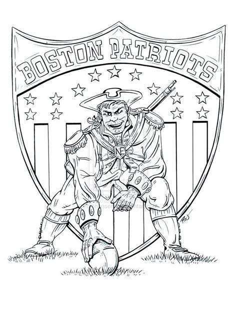 coloring pages for new england patriots patriots coloring pages free coloring home
