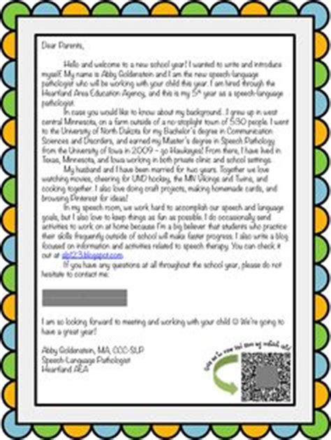 Self Introduction Letter To Host Family 1000 Images About Parent Conferences On Parent Conferences Parent