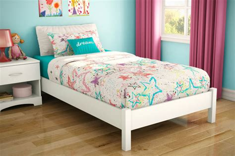 bed for kid step one white platform bed modern beds