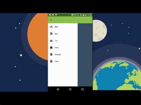android studio create menu layout android demo drawer navigation menu with material design