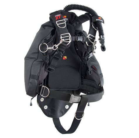bcd dive nomad xt sidemount system dive rite