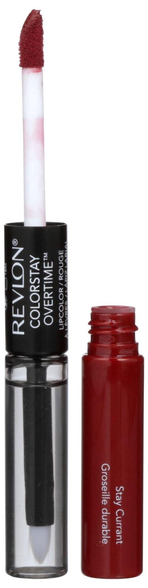 Lipstik Revlon Colorstay Overtime revlon colorstay overtime lipcolor stay currant lipstick