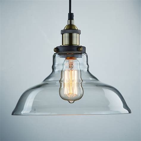 Hanging Glass Light Fixtures Jar Pendant Light Domestic Imperfection