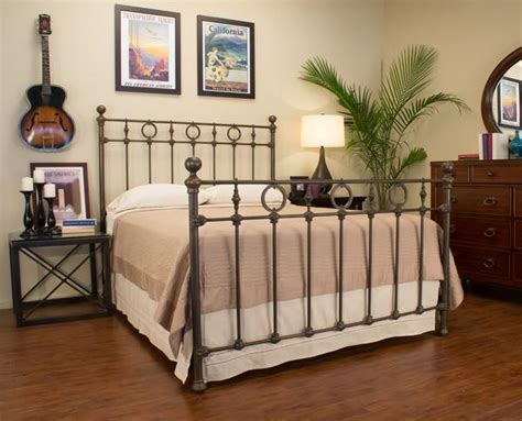 Handmade Iron Beds - heritage iron bed st helena home handmade iron beds