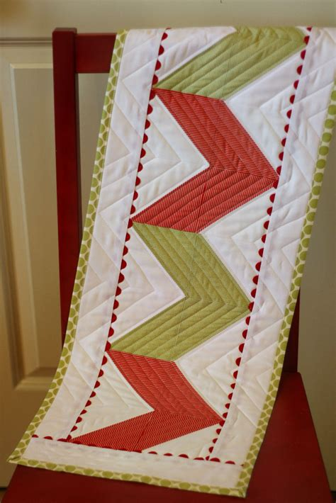 table zig zag zig zag table runner tutorial