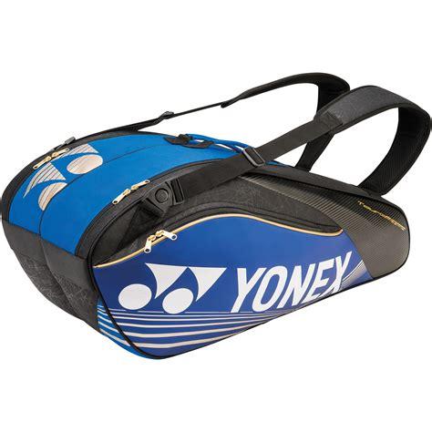 Yonex Racket Bag yonex pro 6 racket bag bag9626ex black blue